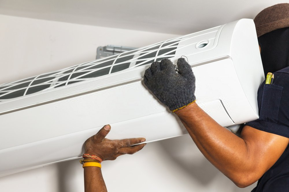 instalaçao de ar condicionado